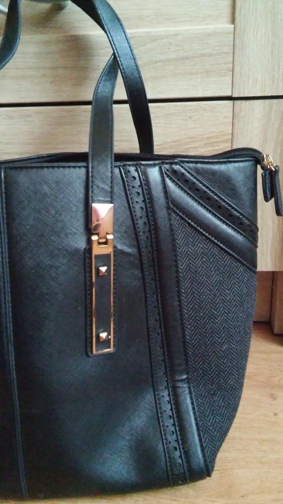 czarna torebka New Look