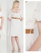 LOST INK sukienka rozkloszowana koronkowa 50 22