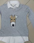 Sweter z bluzką 2w1 Next 42...