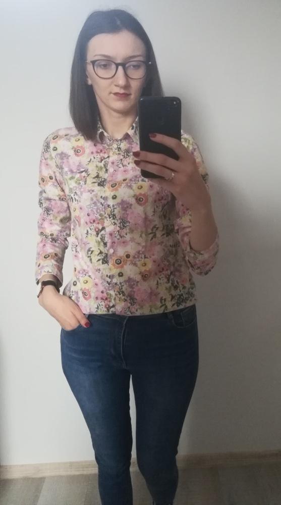 Koszula w kwiaty M...