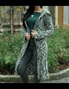 długi sweter płaszcz...