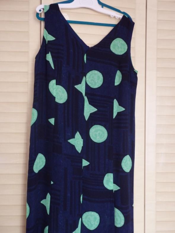 sukienka długa z rozporkiem