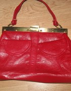 nowa makowa czerwona torebka...