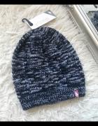 4F Granatowa ciemna damska czapka zimowa rozm S M...