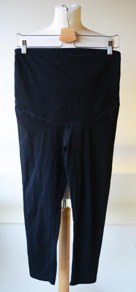 Legginsy Czarne Rybaczki H&M Mama M 38 Dresy...