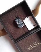 W Kruk srebrna obrączka odyseja oksydowana r10 pierścionek jak ...