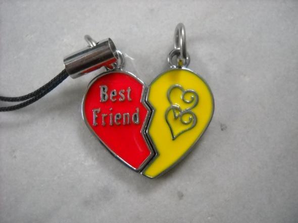 Best Friends 2 ZAWIESZKI do telefonu serduszko