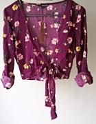 Nowa bluzeczka z wiązaniem w kwiaty Tally Weijl...