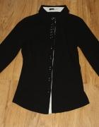 Czarna elegancka koszula...