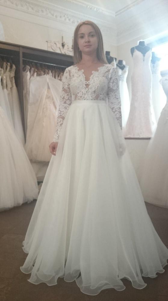 Ecru suknia ślubna r 36