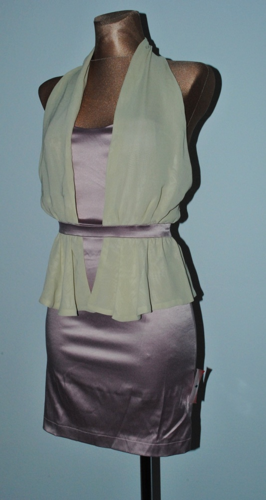 sukienka asos szyfon 8 s