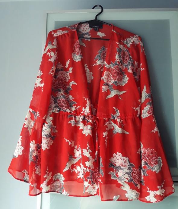 Koszule Nowa koszula w kwiaty wiązanie rozmiar M Primark