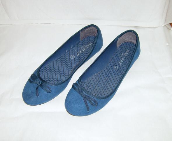 niebieskie balerinki 36 37