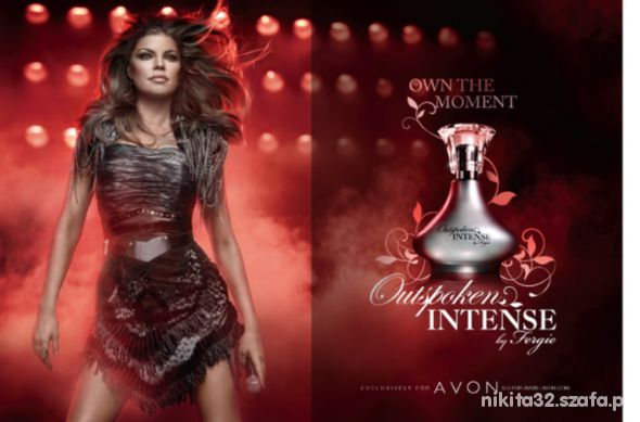 Avon Outspoken Intense by Fergie woda perfumowana