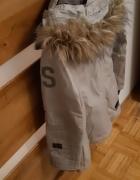 Szara kurtka zimowa G Star...