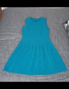 Sukienka morska H&M...