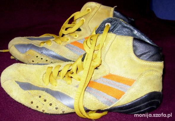 Sportowe żółte trampki Gino Lanetti
