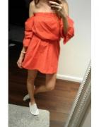 czerwona sukienka new yorker...