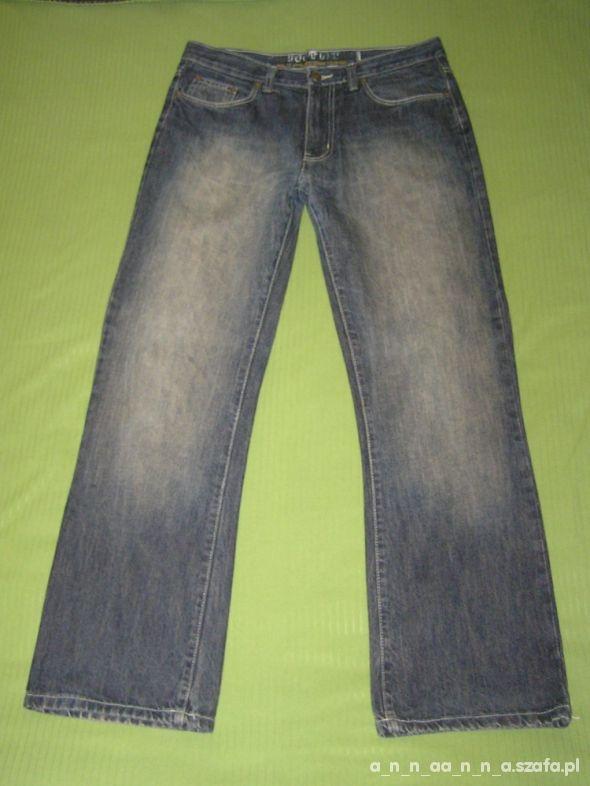 Męskie jeansowe spodnie W34 L32