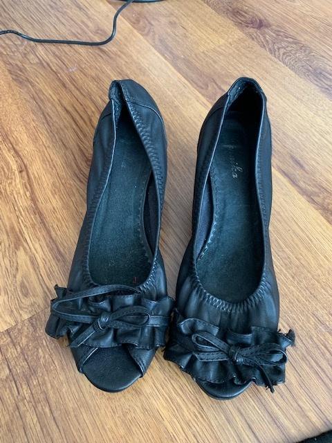 Czarne balerinki