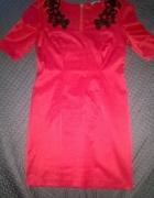piekna sukienka czerwona ORSAY wesele randka L 40...