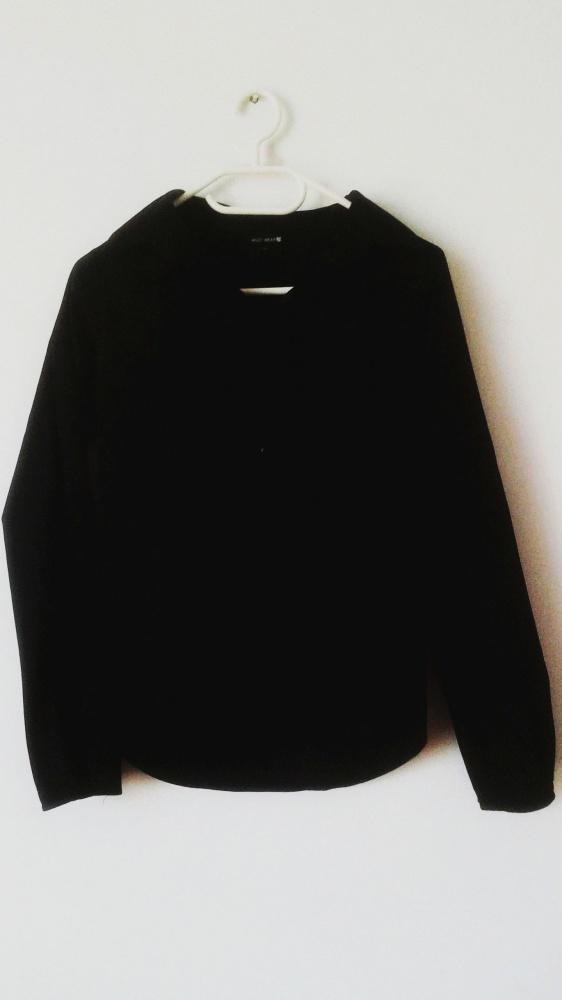 Koszule Czarna koszula elegancka rozpinana żabot gothic punk rave gotycka mroczna