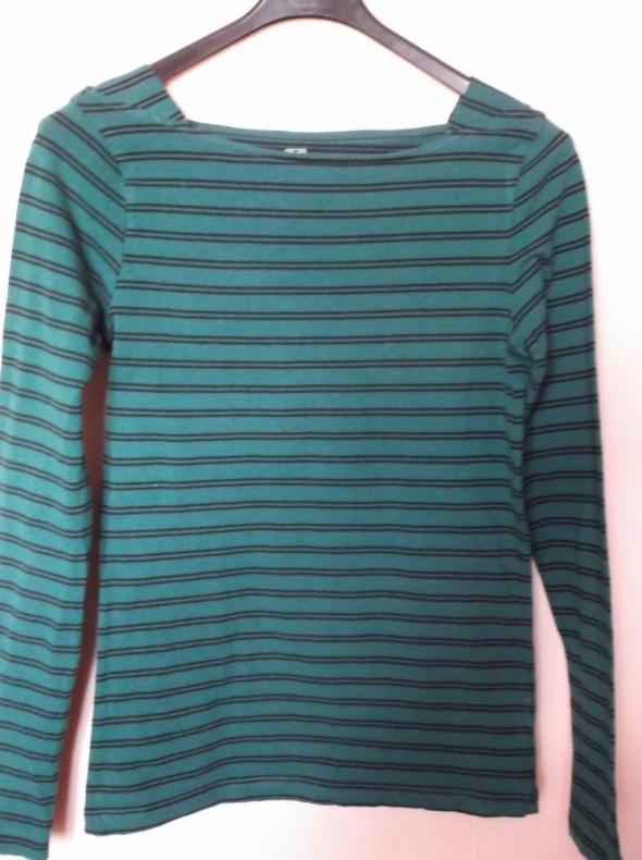 Zielona bluzka w paski FF 34...