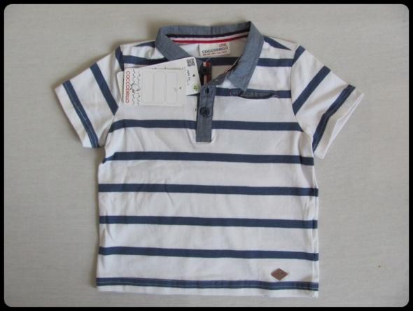 NOWA koszulka bluzka COCCODRILLO 86 w paski