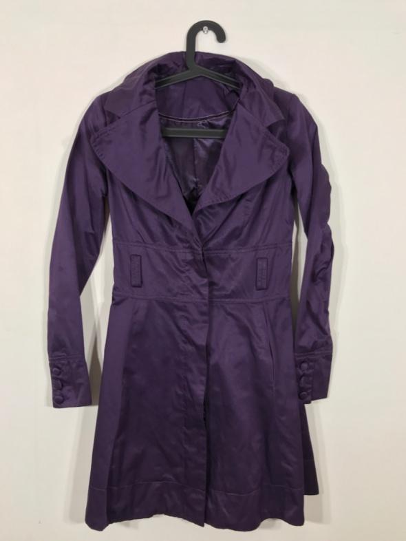 Fioletowy płaszcz NEW LOOK