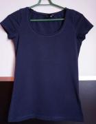 Granatowa t shirt koszulka marki h&m rozm xs 34...