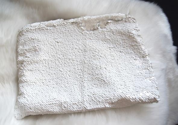 Kopertówka Zara biała cekiny