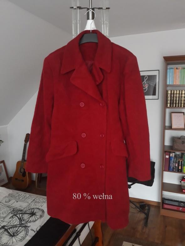 Płaszcz 80 procent wełna...
