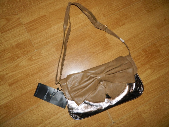 Top Secret elegancka mała torebka kokarda