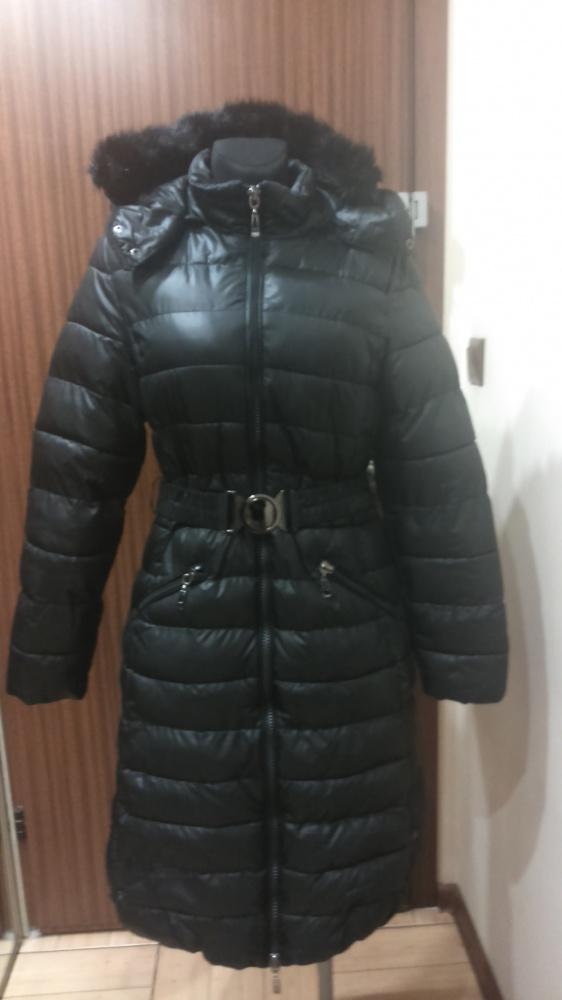 Płaszcz zimowy pikowany bardzo ciepły
