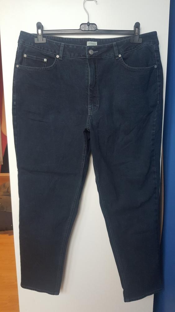 Jeansy w dużym rozmiarze