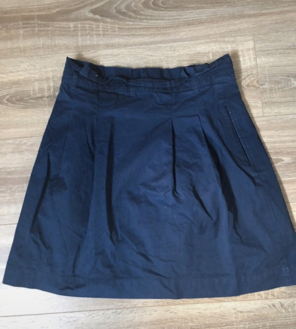 Granatowa spódnica Zara...