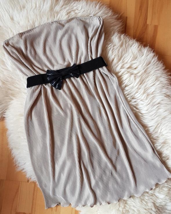 Prążkowana sukienka Gorsetowa Tally weijl 42...