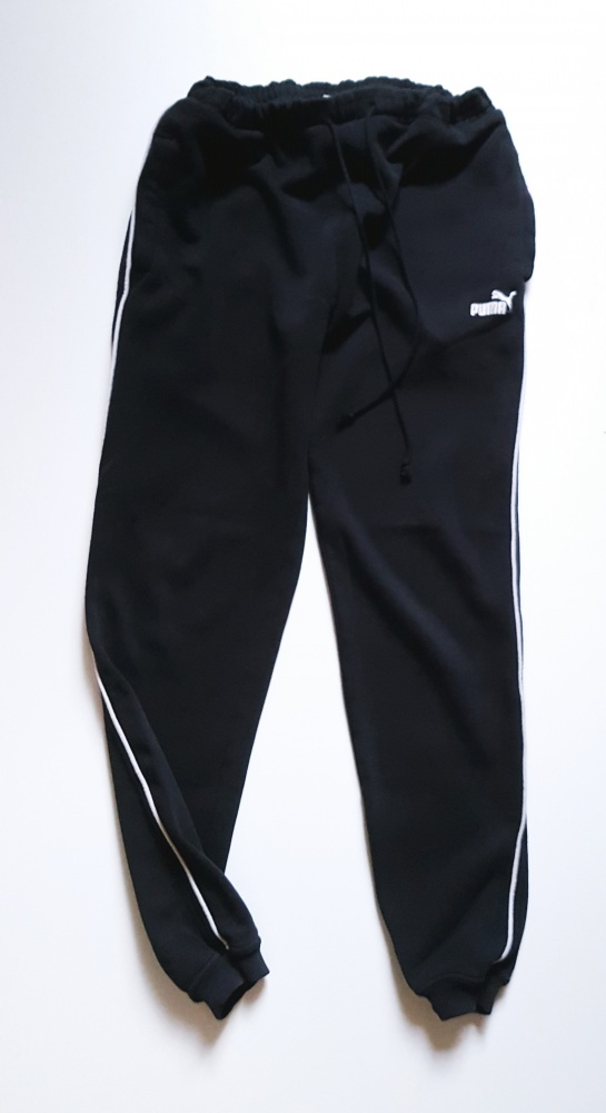 PUMA Spodnie dresowe S ka czarne