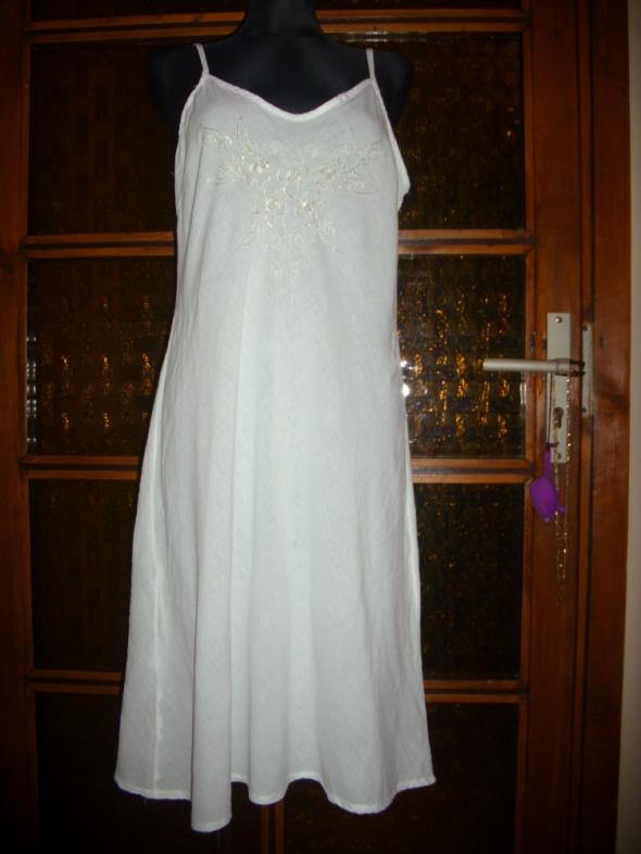 sukienka plażowa letnia cienkie ramiączka M na L