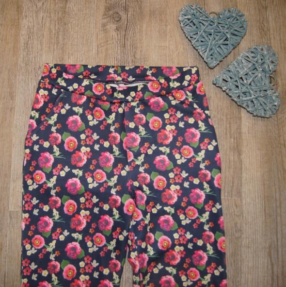 Spodnie dziewczęce George kwiaty rozm 152 do 158
