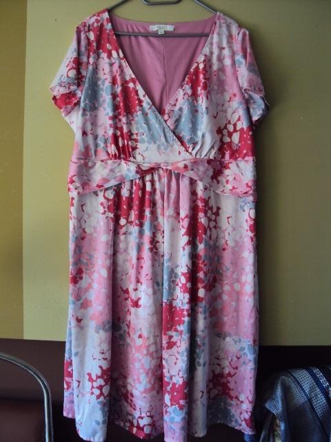 Suknie i sukienki sukienka w kolorwe ciapki
