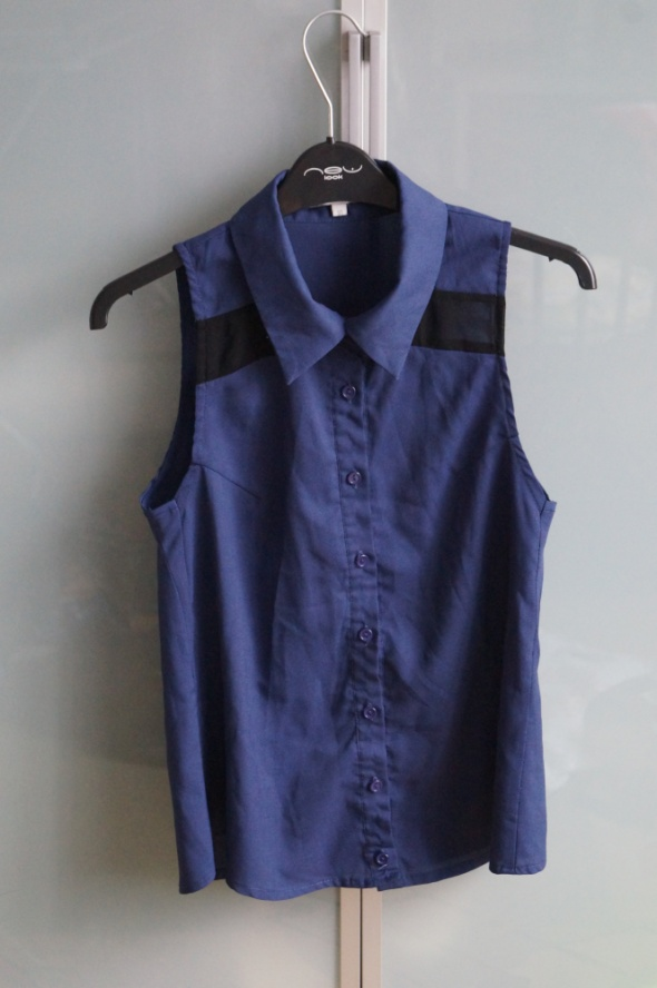 Koszule Granatowa koszula rozmiar M