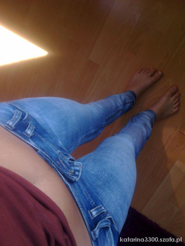 Jeansowe rurki CROPP...
