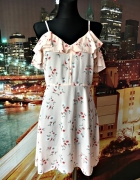 atmosphere sukienka zwiewna kwiaty floral hit blog 36 S...
