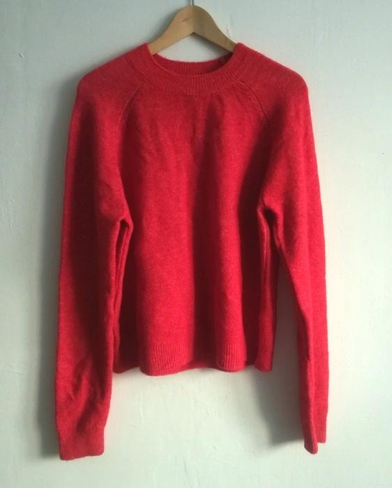 ASOS czerwony sweter L