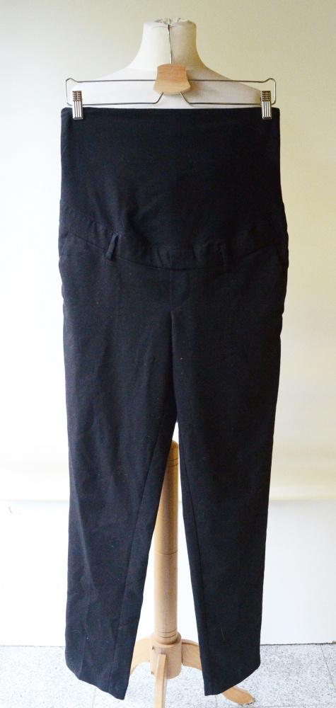 Spodnie Czarne H&M Mama Wizytowe L 40 Eleganckie
