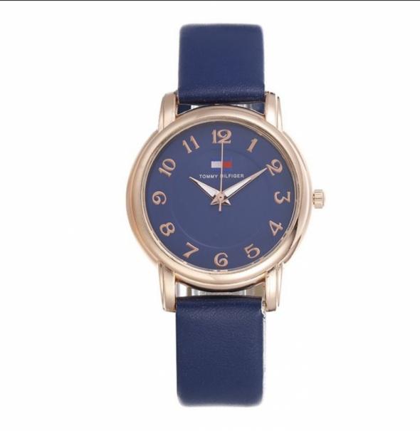 Granatowy klasyczny Zegarek