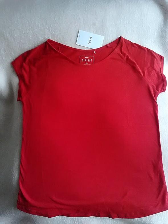 nowa czerwona bluzka xxl