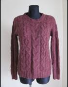 Atmosphere ciepły sweter z warkoczami rozmiar 40 L...