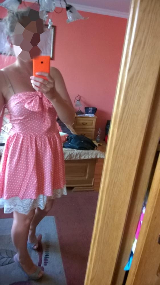 Groszki sukienkeczka okazja